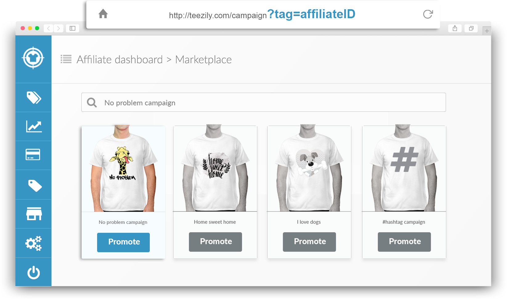 Teezily | Buy, Create & Sell T shirts to turn your ideas