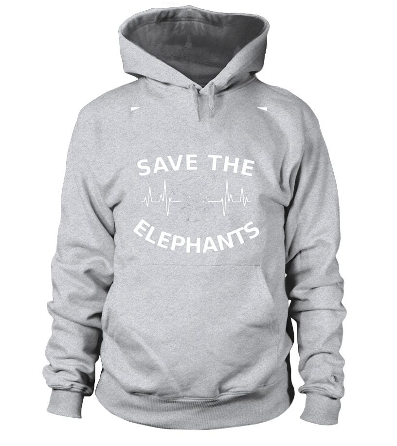 2b4ed35cc SAVE THE ELEPHANTS Nature Environment statement gift T-Shirt - Hoodie