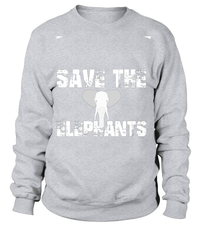 2375fd90d SAVE THE ELEPHANTS Nature Environment statement gift T-Shirt ...