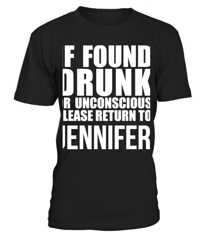 a231f6d6 IF FOUND DRUNK PLEASE RETURN TO T SHIRT - T-shirt   Teezily