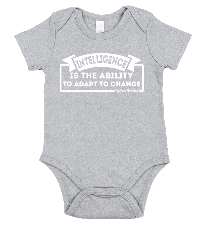 e52fc793c Intelligence-Ability To Adapt To Change - Hoodie | Teezily