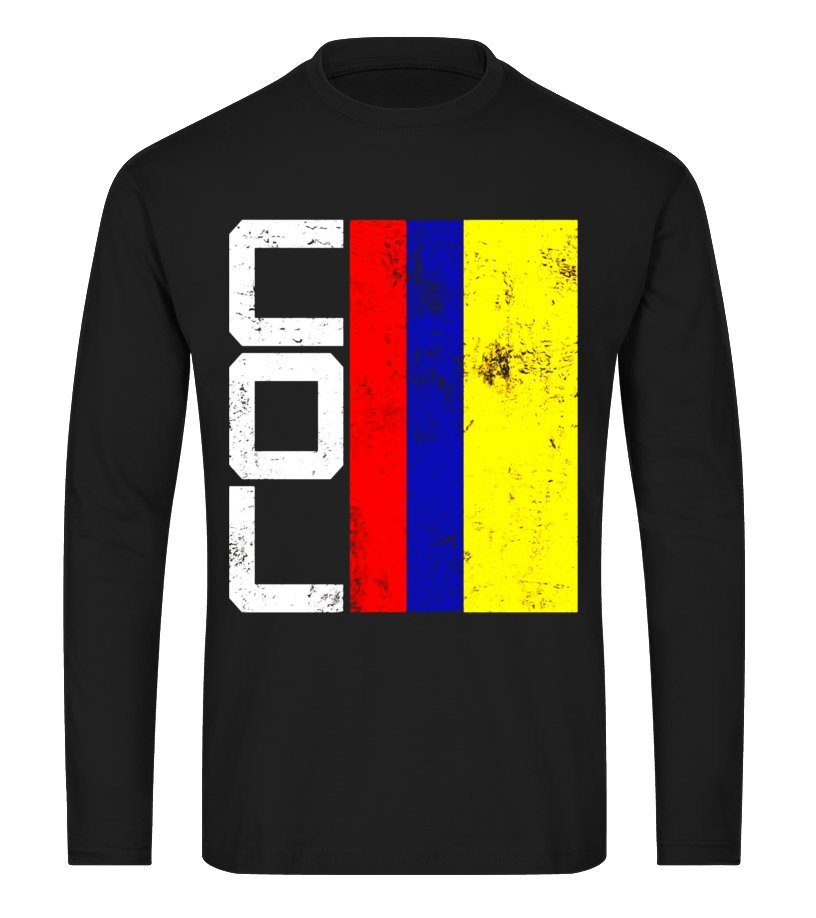 4832f841434 Colombia Flag T-shirt National Team Country Supporter COL ...