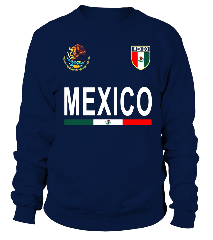 8186811f358 Mexico Cheer Jersey 2017 - Football Mexican T-Shirt - Sweatshirt ...