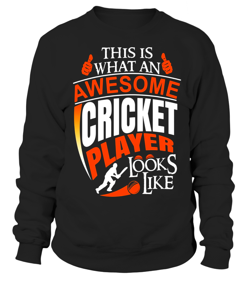 26cde48a5 Funny Cricket Jersey- Awesome Cricket Player Tshirt - Sweatshirt ...