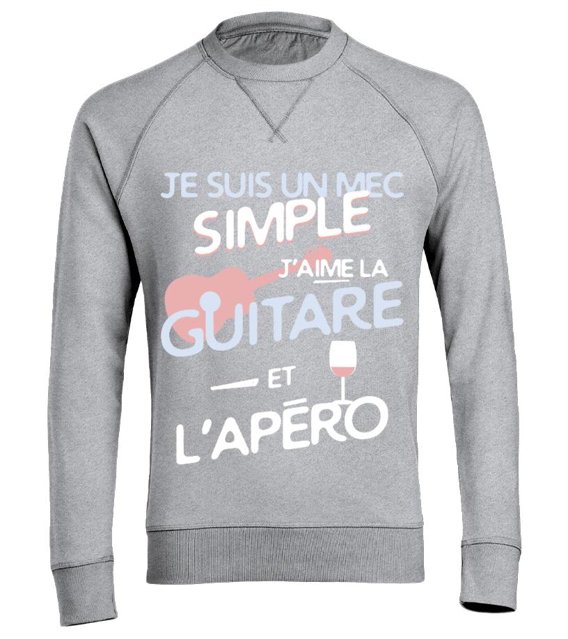 SimpleTeezily T Shirt Un Mec Guitare D2I9WEH