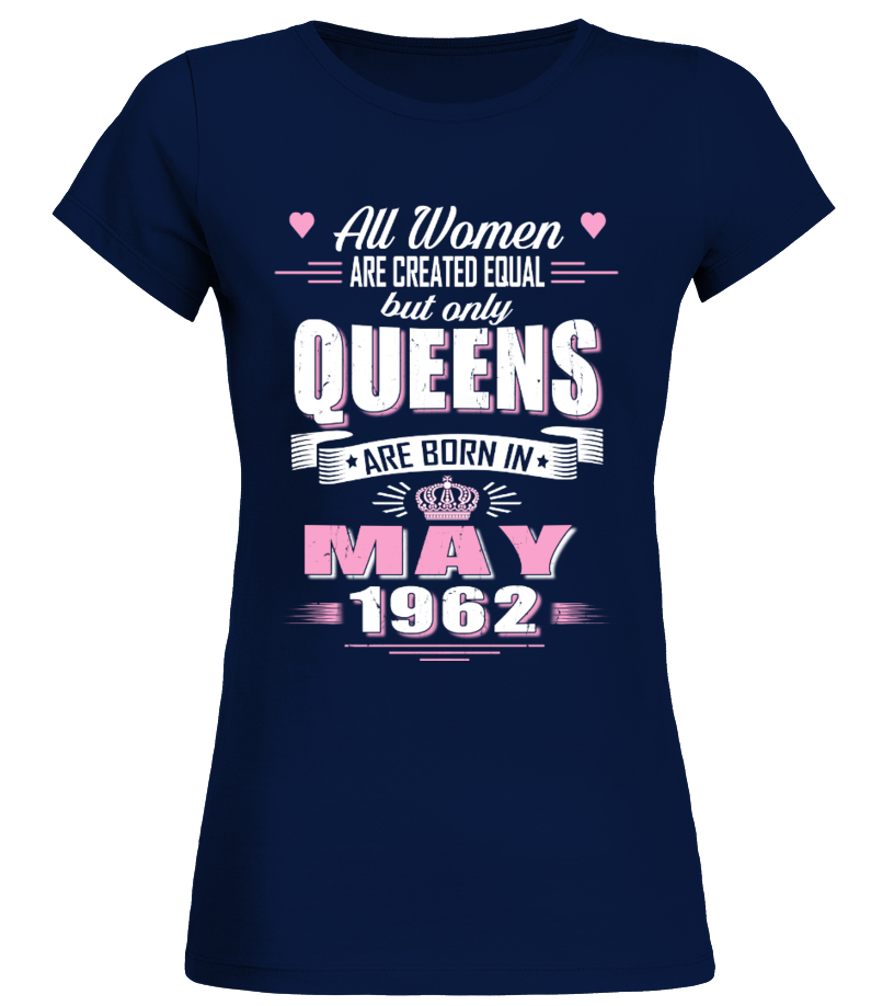 May 1962 birthday of queens shirts t shirt teezily for Custom t shirts in queens ny