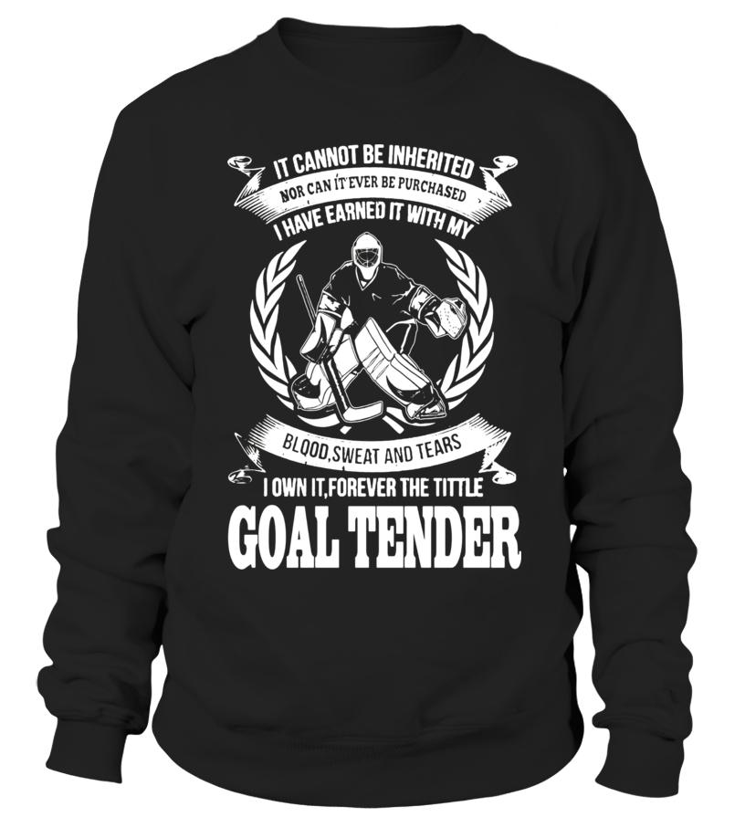 Ice Hockey Goalie T Shirt I Forever Own The Title Goaltender