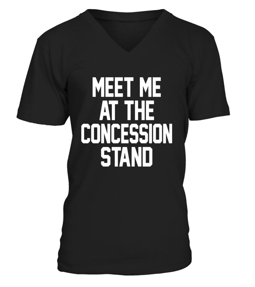 Meet Me at The Concession Stand Gameday Unisex Sweatshirt tee