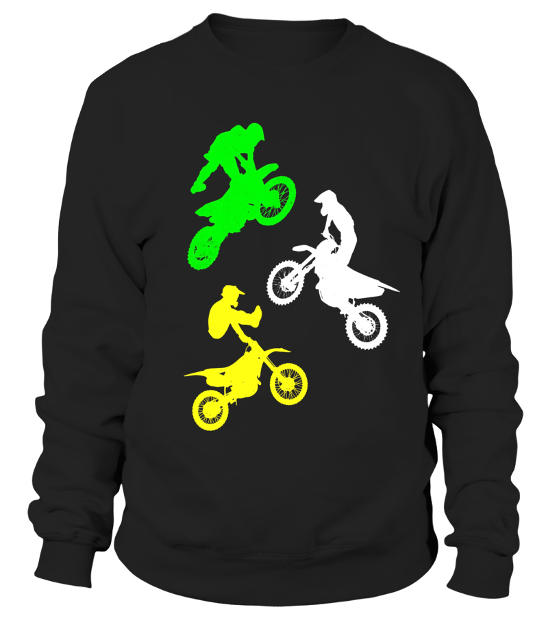 BOYS PERSONALISED MOTOCROSS DIRT BIKE HOODIE CHILDRENS HOODY ALL AGES