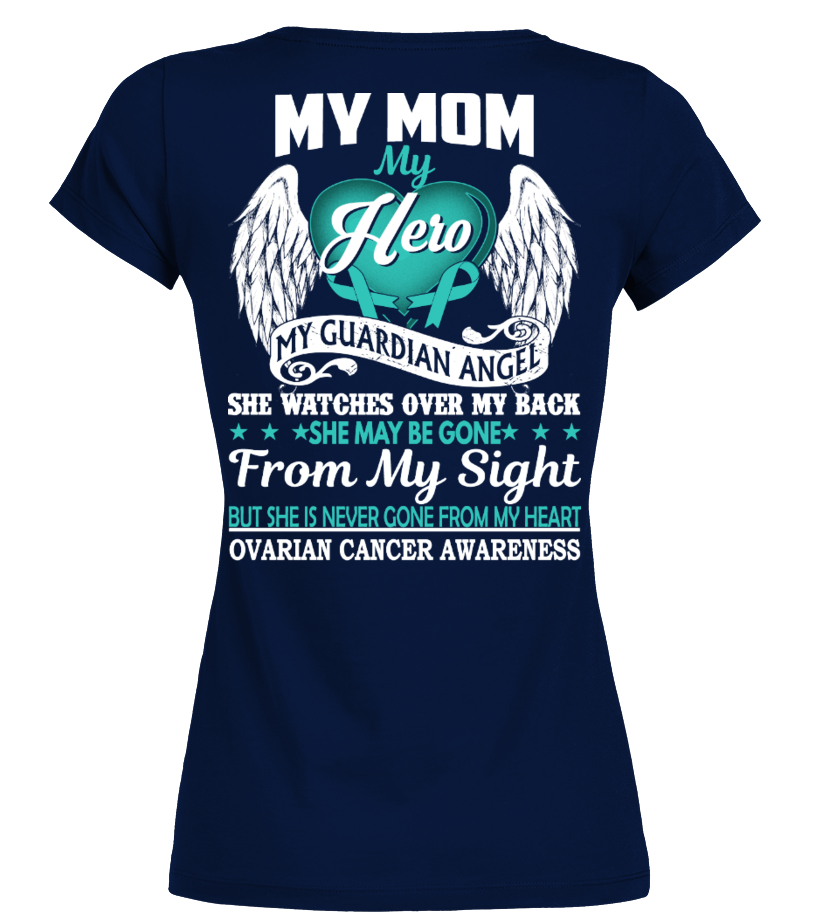 Ovarian Cancer Awareness My Mom Find Fashion Items For Men Women Children Discover All Our Creations High Quality Printing