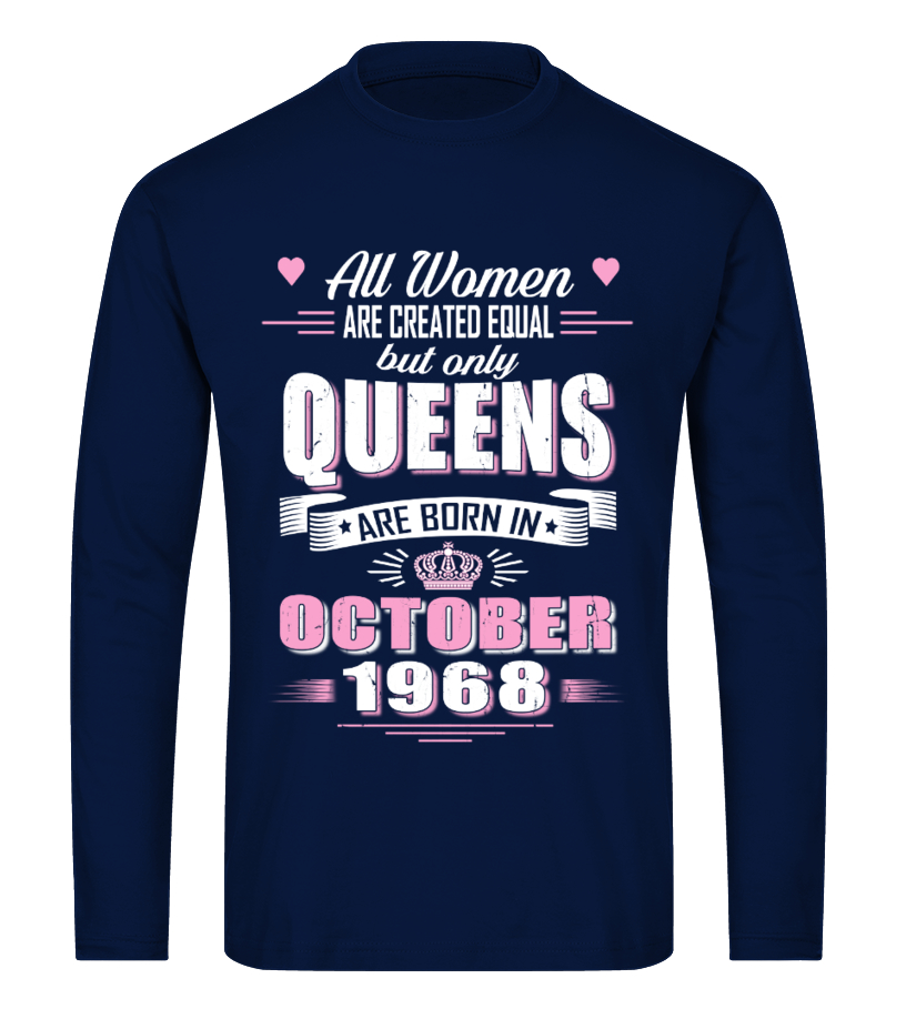fe5e20ac October 1968 birthday of Queens Shirt - T-shirt | Teezily