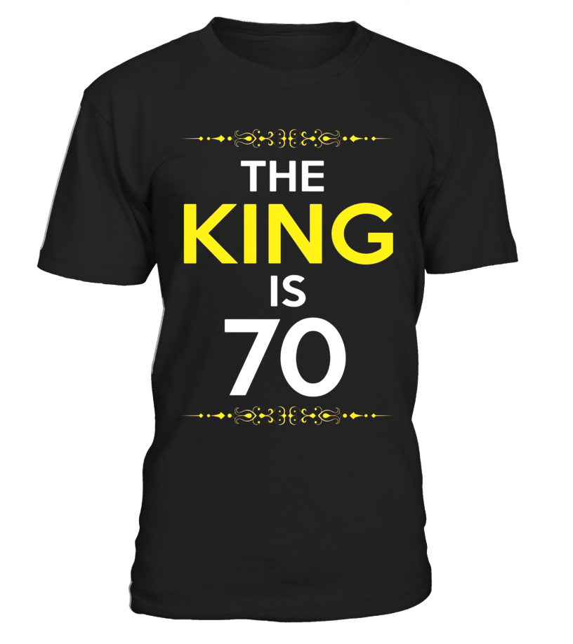 Kings Is 70 Years Old 70th Birthday Gift Ideas For Him Men