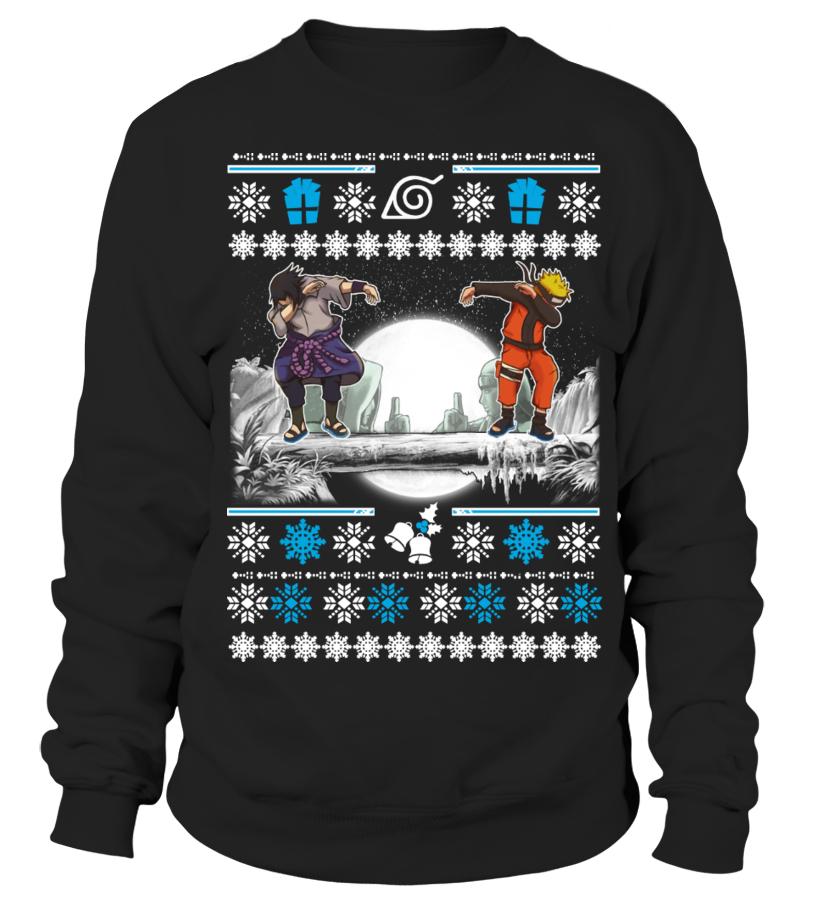 Naruto Sasuke Dab Ugly Christmas Sweater Sweatshirt Teezily