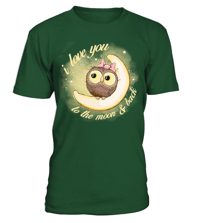 7c394402df Owl love you to the moon back - Hoodie | Teezily