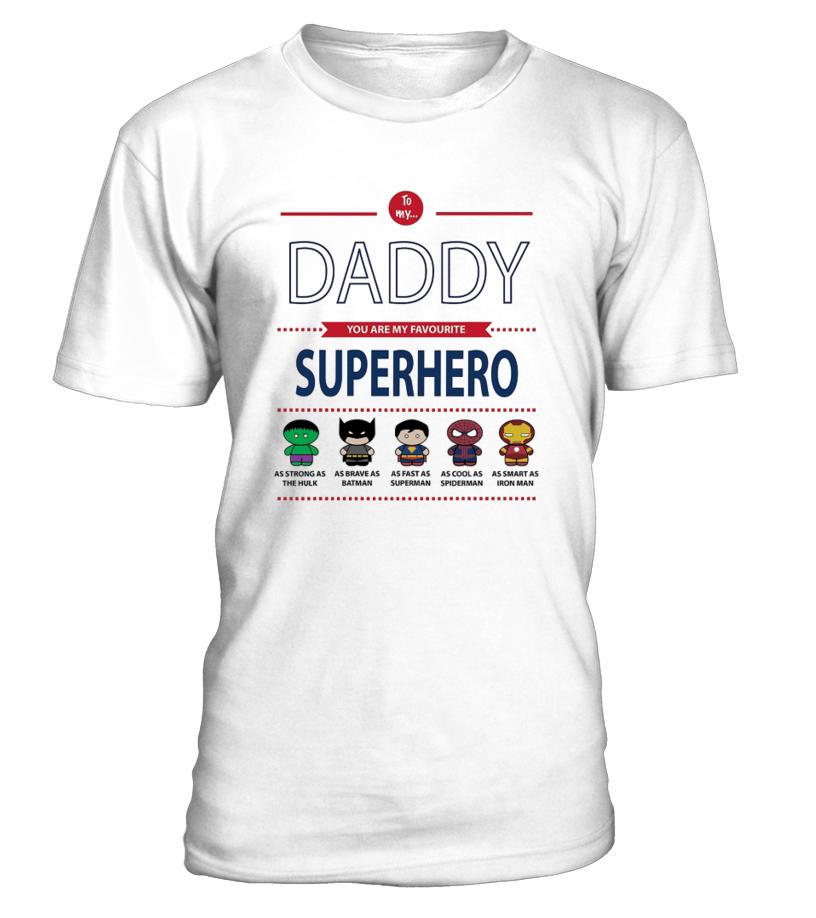24c8a240e Superhero Dad - Father's Day T-Shirt - T-shirt   Teezily