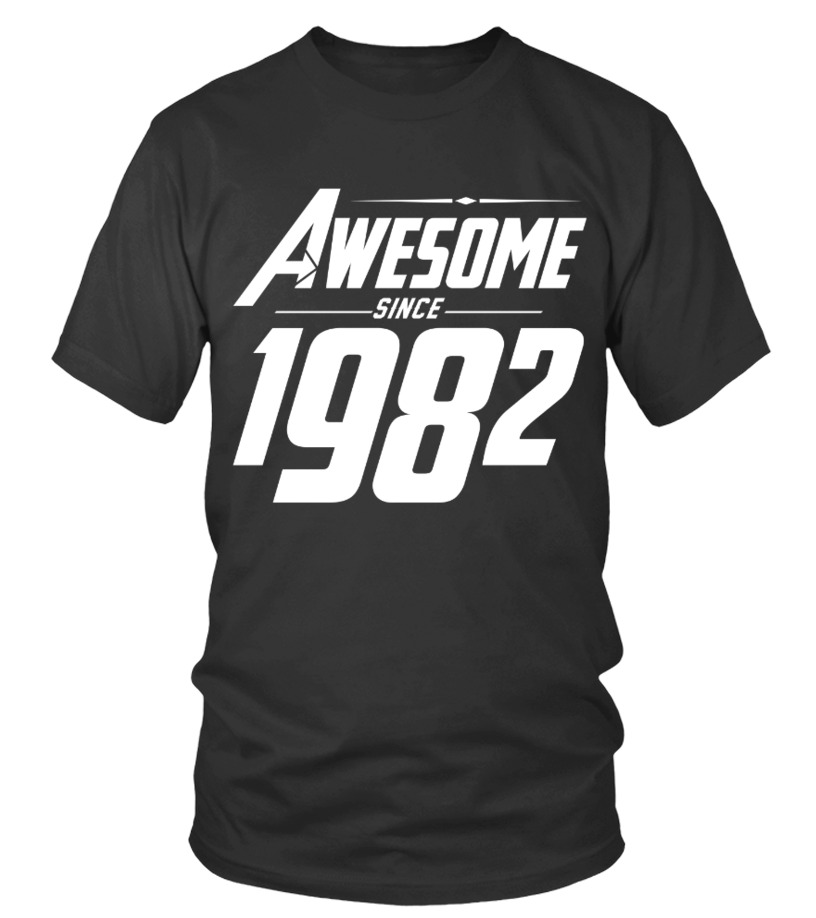 Awesome Since 1982 34th Birthday T Shirts