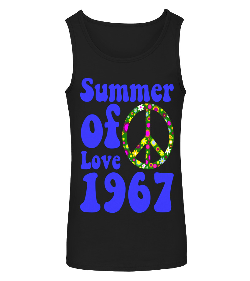 3293788ecb3 1967 Summer of Love Vintage Tees Sixties Flower Power Shirt - T ...
