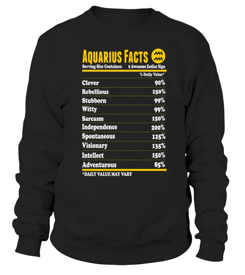 Aquarius Legend Zodiac Sign Horoscope Astrology Astronomy star shirt