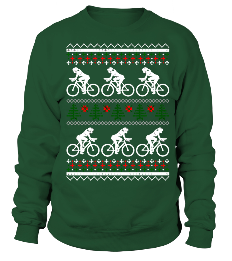 Sweater Cycling Ugly Christmas Sweater Teezily