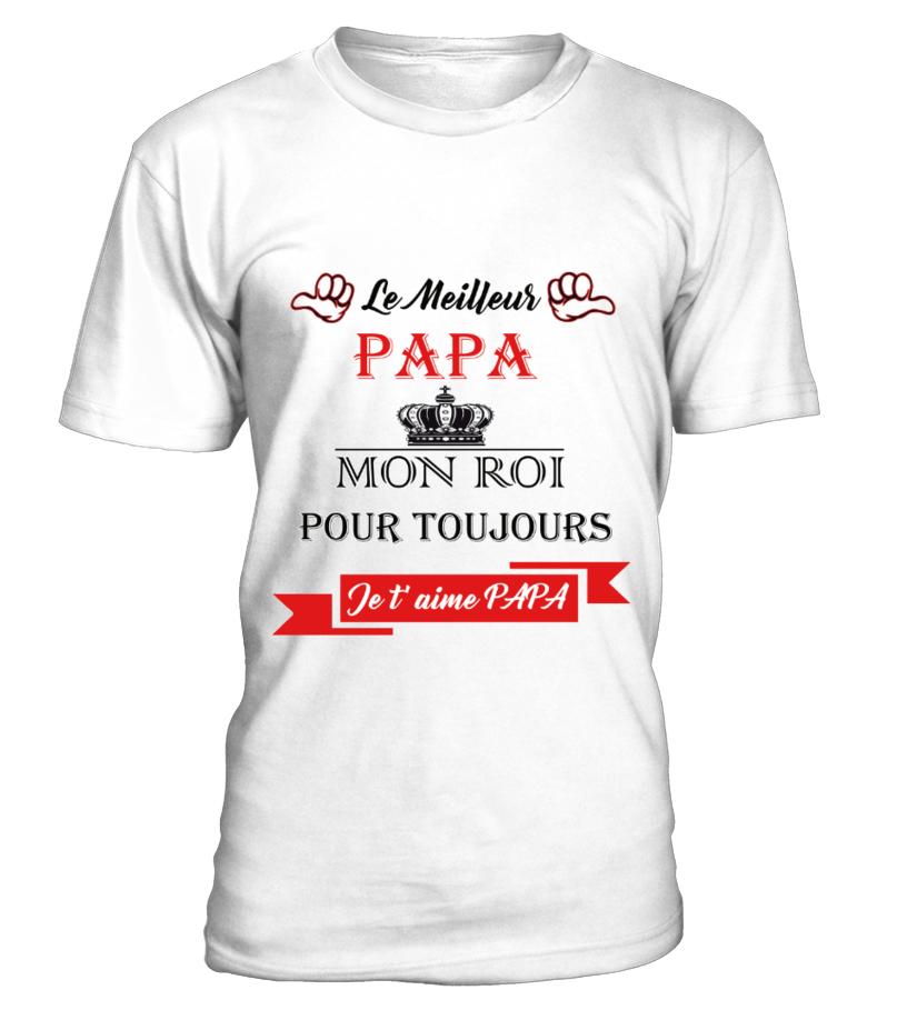 T-shirt - LE MEILLEUR PAPA   Teezily 69ce49545be2