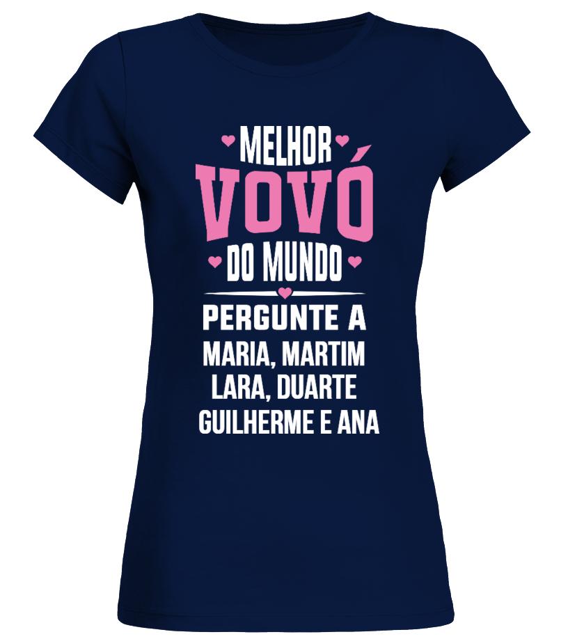 b89e3c03e0036 Camiseta - A MELHOR VOVÓ DO MUNDO CAMISETA CUSTOMIZADA