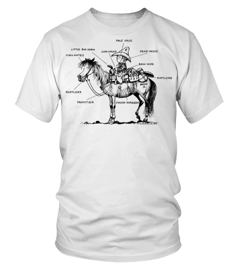 Thelwell Learning Western Riding Mens T-Shirt