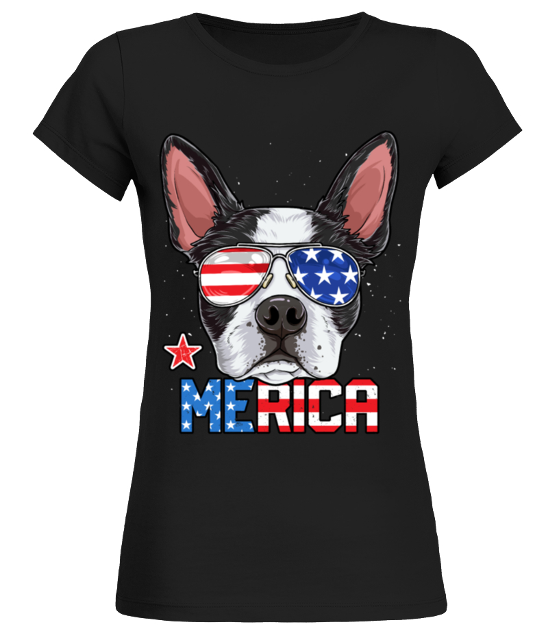 Puppy Boston Terrier Love Heart Baby Casual Round Neck T-Shirts Short eeve T