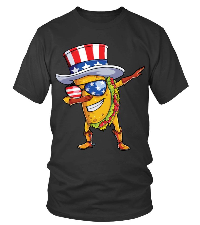 b291e1fa Dabbing Uncle Sam Taco T shirt 4th of July Kids Boys Girls - T-shirt ...