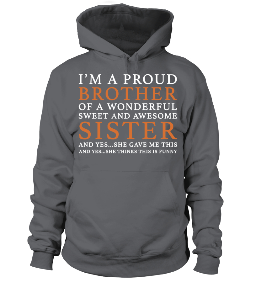 Funny Brother Gift Idea From Sister T Shirt Teezily