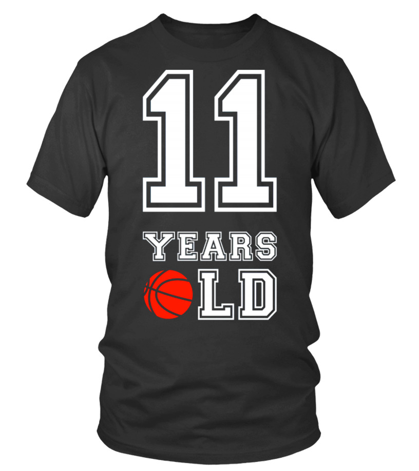 11 Years Old Basketball Birthday Shirt