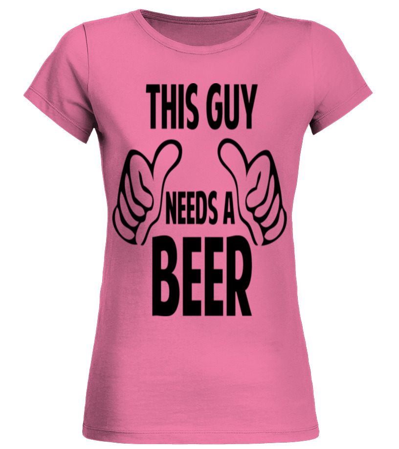 THIS GUY NEEDS A BEER Bier Geschenk Funshirt Sweater S M L XL XXL Pullover