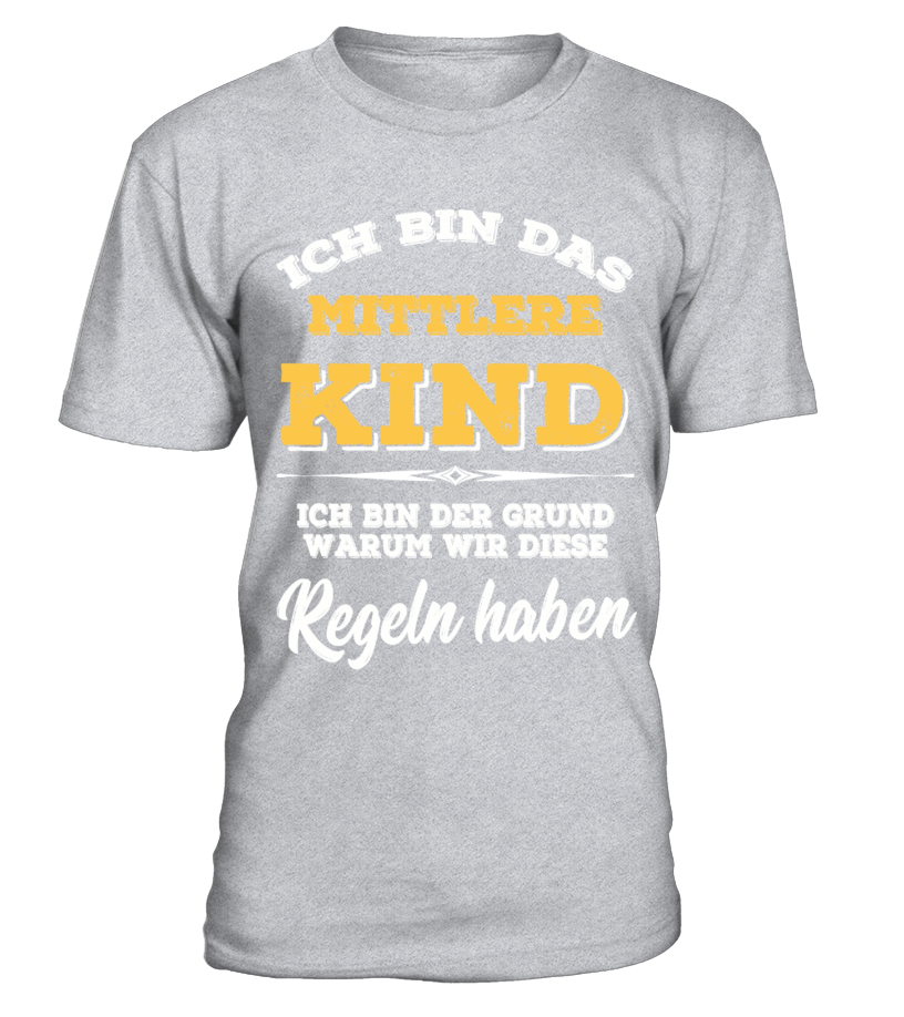 T Shirts: Mittleres Kind | Redbubble