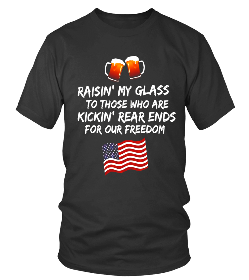 0a90633ee4827 Raisin  my glass to those who... veterans appreciation shirt - Limited  Edition