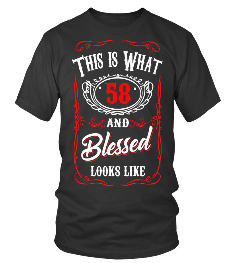 Funny T Shirt For 58 Years Old Meaning Birthday Gift