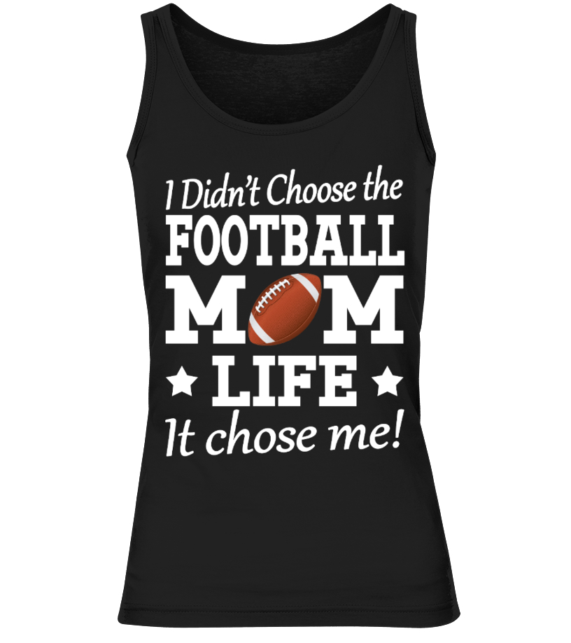 b90fb596 ... T-shirts for Football Mom here ! Additional products and colours. Round  neck T-Shirt Unisex 19.18 €