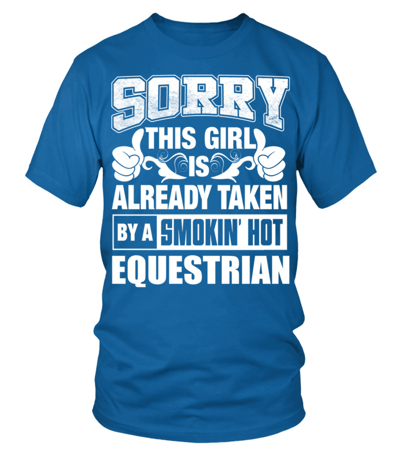 7a20cd91c3 EQUESTRIAN Shirt for Girl Friend or Wife EQUESTRIAN Couple Valentine T Shirt  - T-shirt