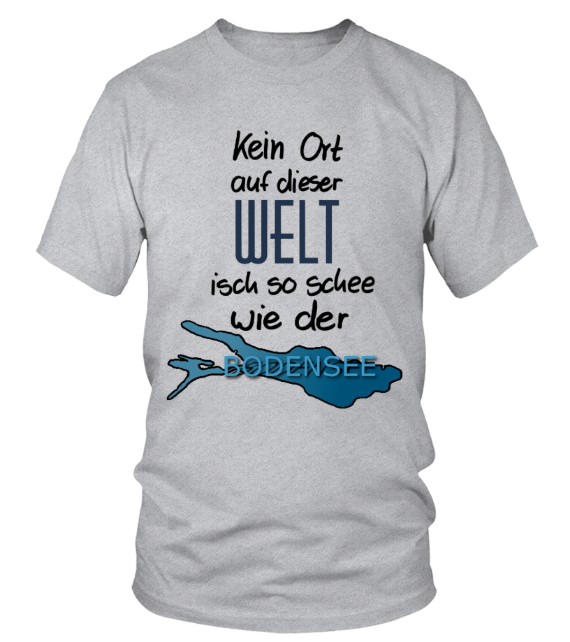 650820c038df8 BODENSEE - T-Shirt | Teezily