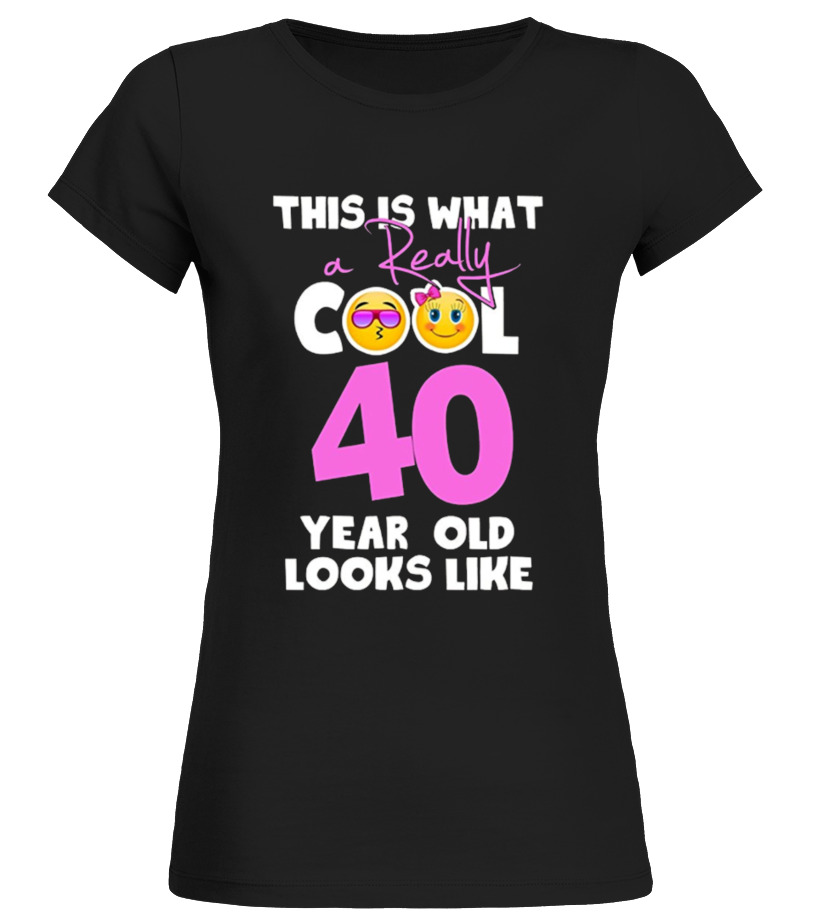 Emoji 40th Birthday Gifts For 40 Year