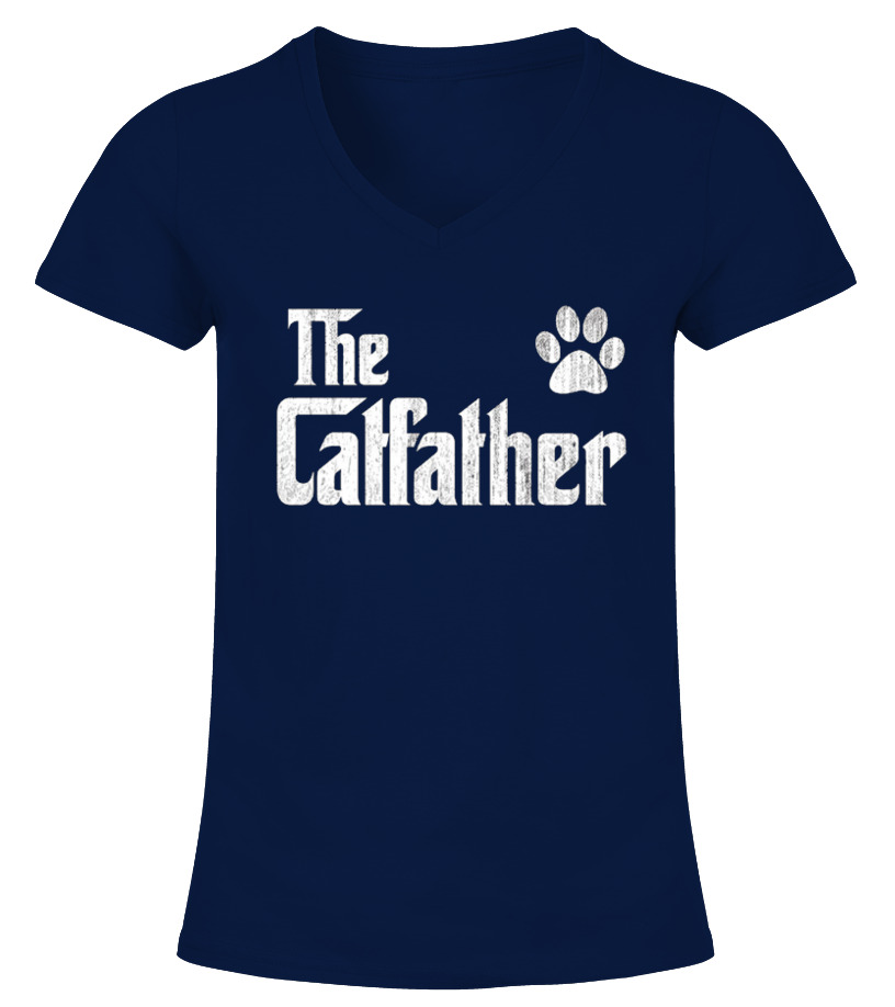 6c6e087f The Catfather Shirt, Cat Dad Dog Lover | Cat Lover T-Shirt | Cat ...