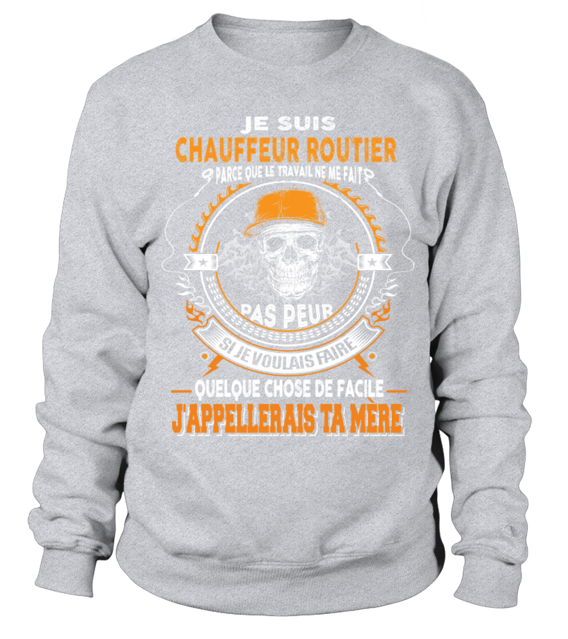 TEEZILY T-Shirt Homme Pir/ère du Routier