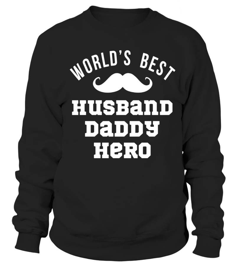 4351d3dfc Sweater - World's Best Husband Daddy Hero Shirt Fathers Day Gift Dad -  Limited Edition