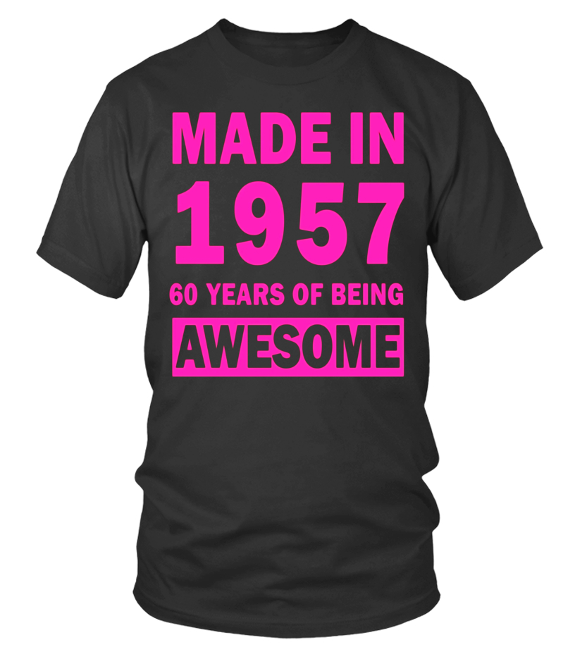 Made In 1957 60 Years Old 60th Birthday Gift Ideas For Her