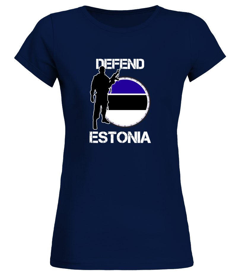 Estonia text Ladies T-Shirt