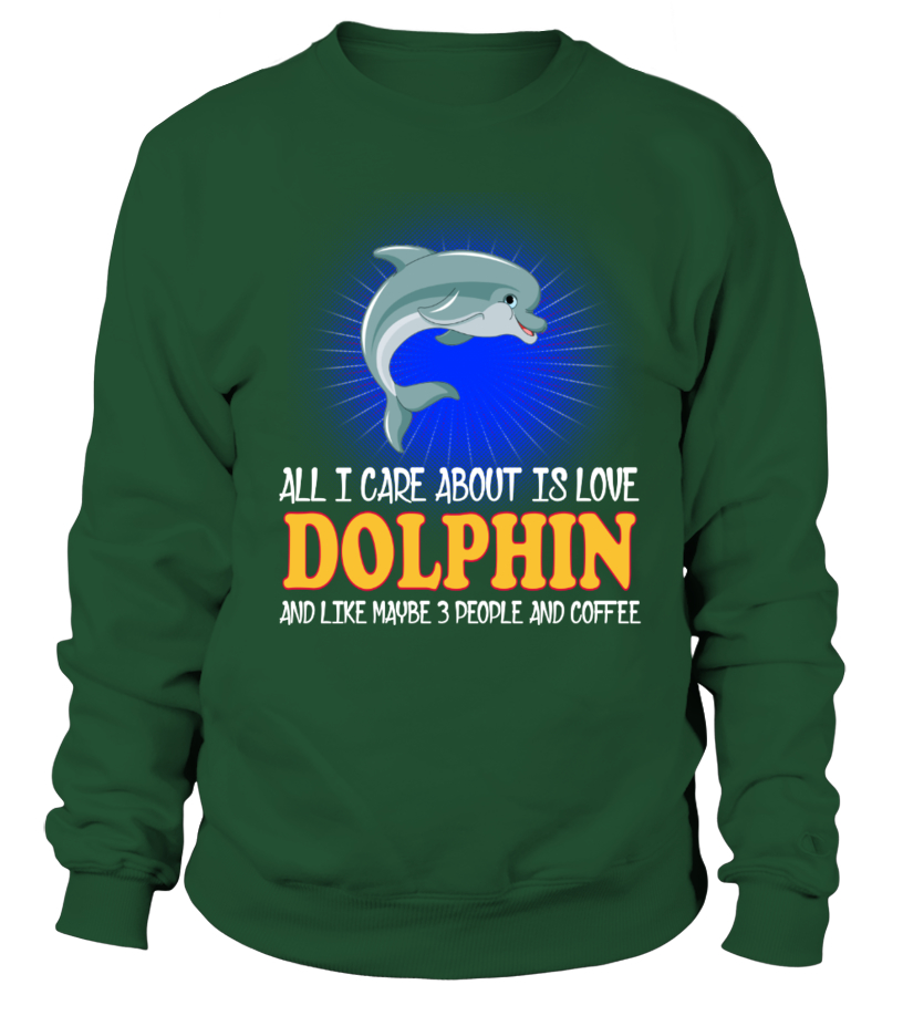 Woman dolphin lover