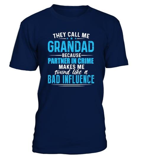 THEY CALL ME GRANDAD T-shirt | Teezily