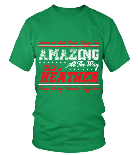 T-shirt HEATHER  AMAZING | Teezily