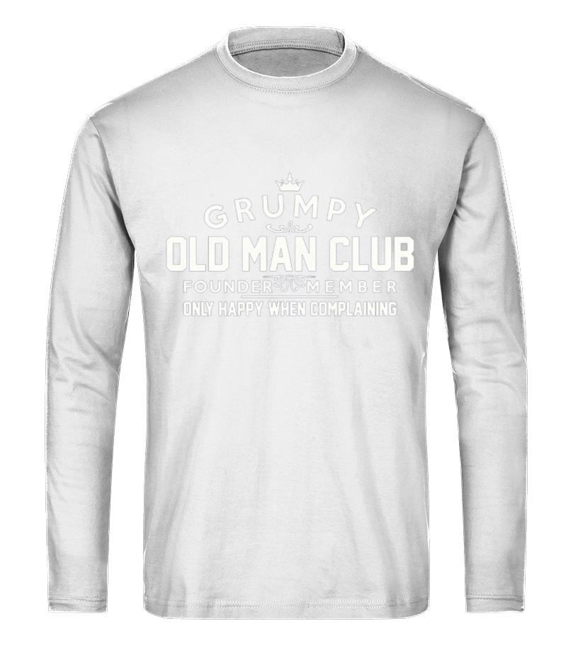 86437122 Men S Grumpy Old Man Club Founder Member T Shirt T Shirt Teezily