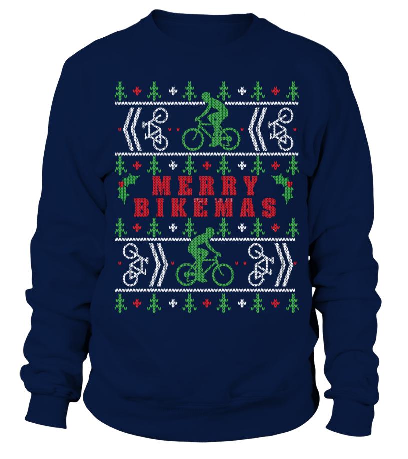Cycling Ugly Christmas Sweater - Sweatshirt  fba3b2912