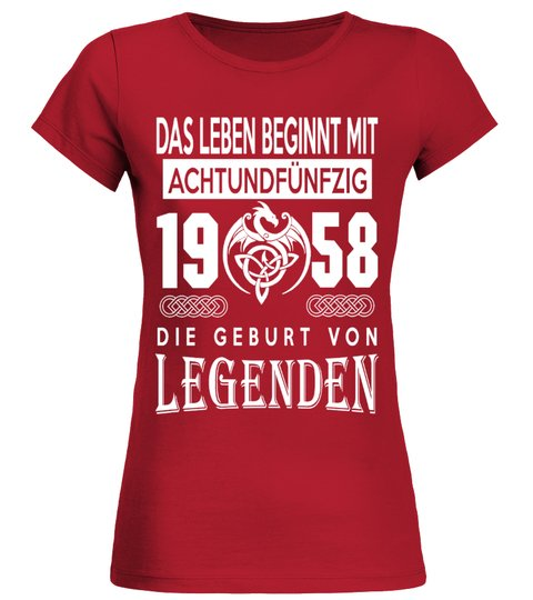 1958-LEGENDEN T-Shirt | Teezily