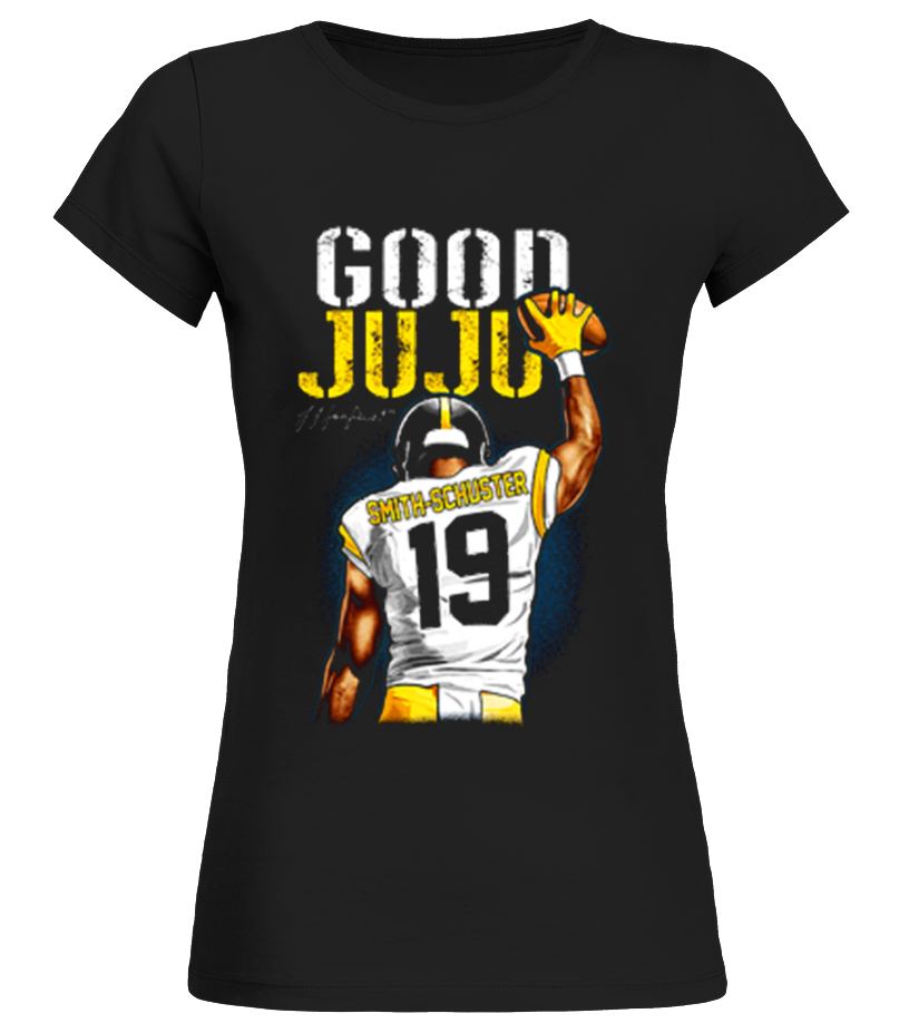 reputable site e10db 13bd7 Good JuJu - Smith-Schuster Playoff - T-shirt | Teezily